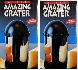 Pair of AMAZING  graters with free spiral cutter