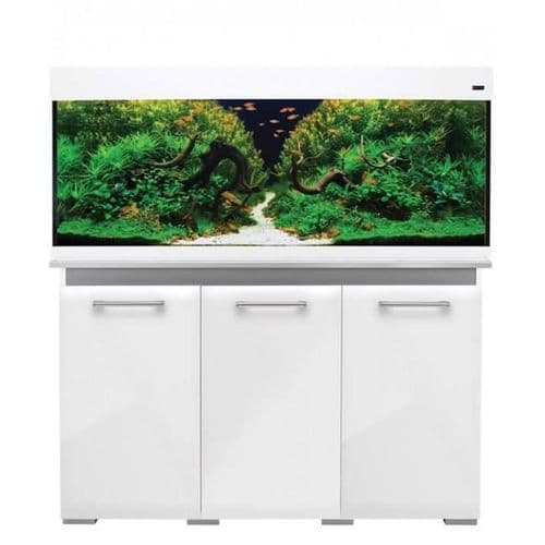 Aqua One Aqua Vogue 245L - Aquarium and Cabinet - Gloss White