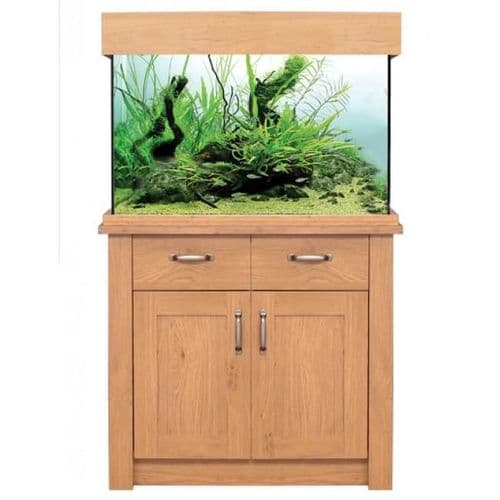 Aqua One OakStyle 145L - Aquarium and Cabinet - Oak