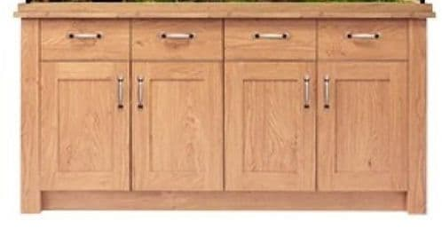 Aqua One OakStyle 300 - Cabinet Only - Oak