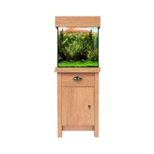 Aqua One OakStyle 85L - Aquarium and Cabinet - Oak
