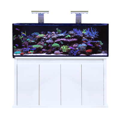 D-D Reef-Pro 1500S Standard - Aquarium And Cabinet - Gloss White