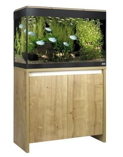 Fluval Roma 125L NEW Bluetooth LED - Aquarium and Cabinet - Oak