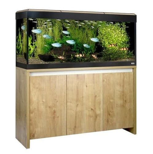 Fluval Roma 240L NEW Bluetooth LED - Aquarium and Cabinet - Oak