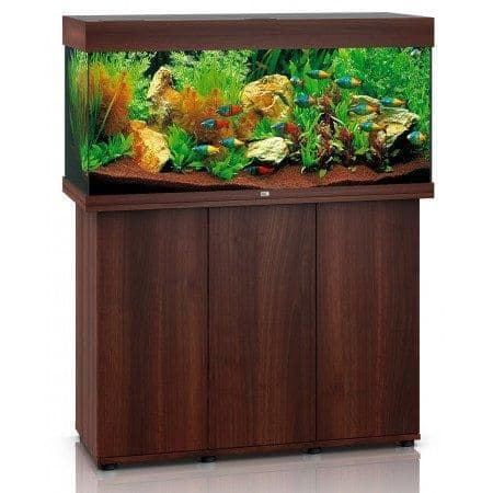 Juwel Rio 180L LED - Aquarium and Cabinets - Dark Wood