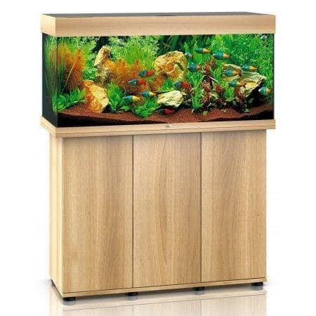 Juwel Rio 180L LED - Aquarium and Cabinets - Light Wood (Oak)