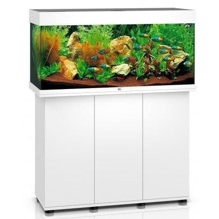 Juwel Rio 180L LED - Aquarium and Cabinets - White