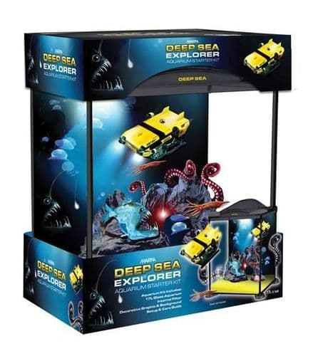 Marina Kids Deep Sea Explorer - Aquarium Setup