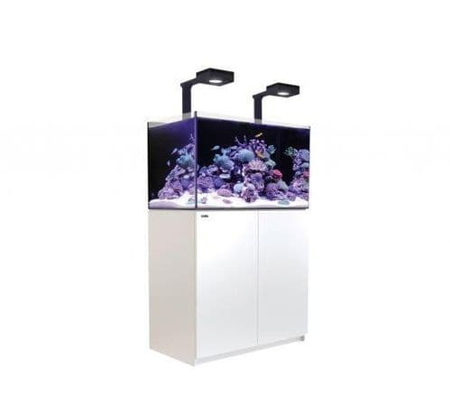 Red Sea Reefer 250 Deluxe - Aquarium And Cabinet - White