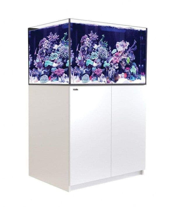 Red Sea Reefer XL 300 - Aquarium And Cabinet - White