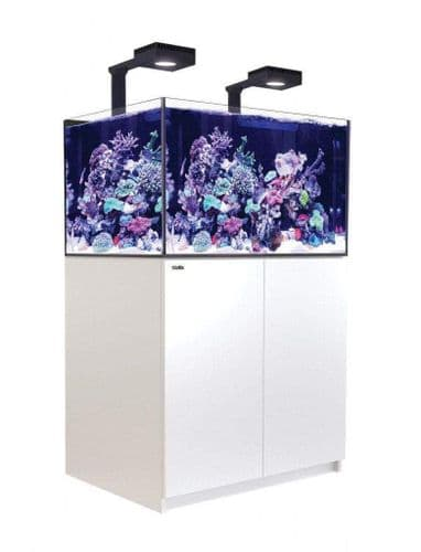 Red Sea Reefer XL 300 Deluxe - Aquarium And Cabinet - White