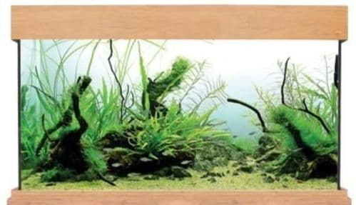 Aqua One OakStyle 230 - Aquarium Only - Oak