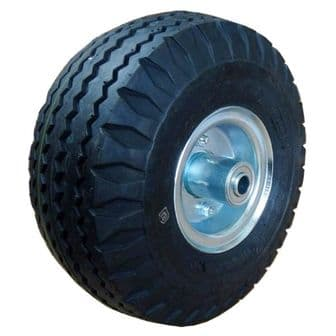 10 Inch Centre Pneumatic Wheel with 5/8 Inch Bearings <br />W-10 CTR58X