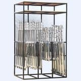 30 Combo and Baby Stand Rack with Double Shelf <br />CSR30-DS