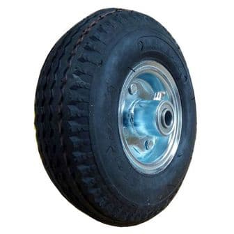8 Inch Centre Pneumatic Wheel with 5/8 inch Bearings <br />W-08 CTR58X
