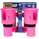 RoboCup Clamp-On Dual Cup Holder - Hot Pink