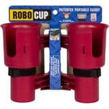 RoboCup Clamp-On Dual Cup Holder - Red