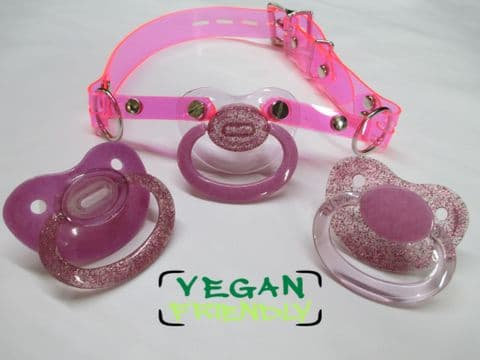 AB Vegan Friendly Swapsie 3 Pretty Pinks Pacigag