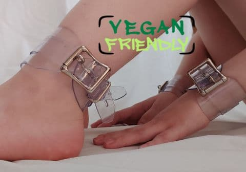 Vegan Friendly Locking Wrist and Ankle Cuff Restraints