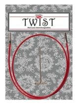 CHIAOGOO TWIST RED CABLE