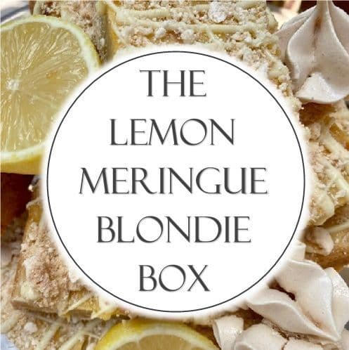 The Lemon Meringue Blondie Box