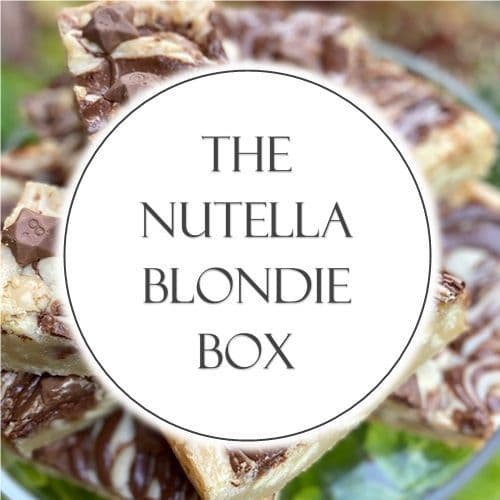 The Nutella Blondie Box
