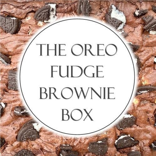 The Oreo Fudge Brownie Box