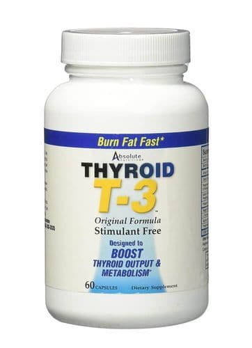 Absolute Nutrition Thyroid T3 60 Caps