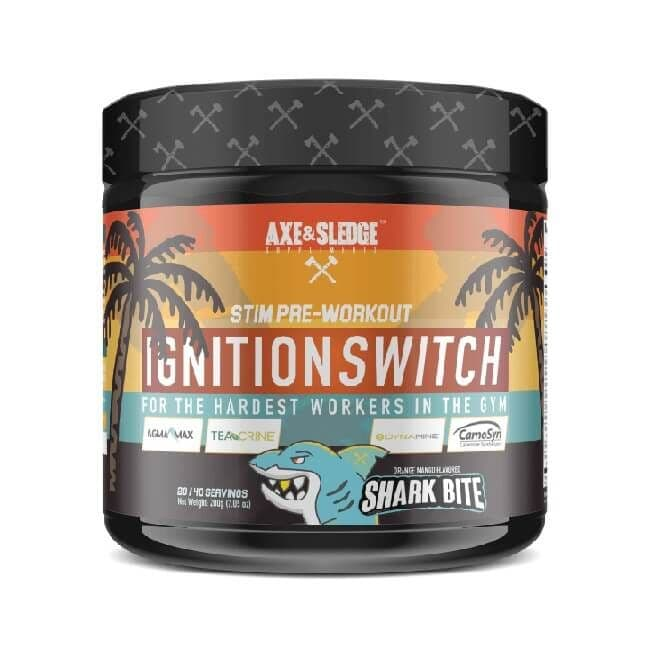 Axe & Sledge Ignition Switch Pre-Workout 200g