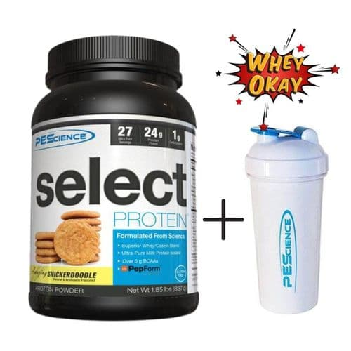 PEScience Select Protein 905g + PEScience Shaker