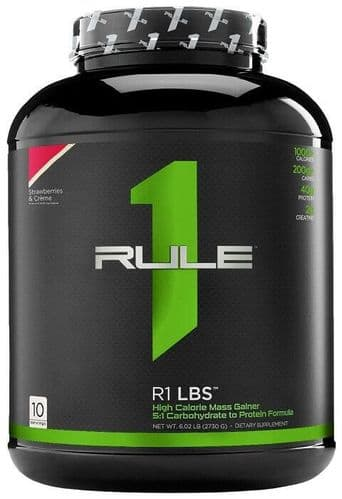 Rule1 R1 LBS Mass Gainer 2730g