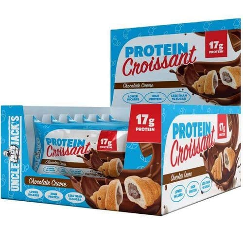 Uncle Jack's Low Carb High Protein Croissant Box of 6
