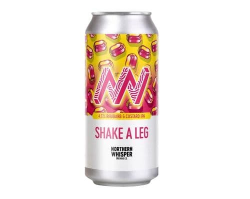 Shake a Leg -  4.6% Rhubarb and Custard IPA