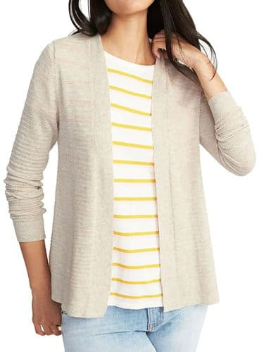 GAP OLD NAVY STONE RIBBED CARDIGAN NEW SIZES 6-22