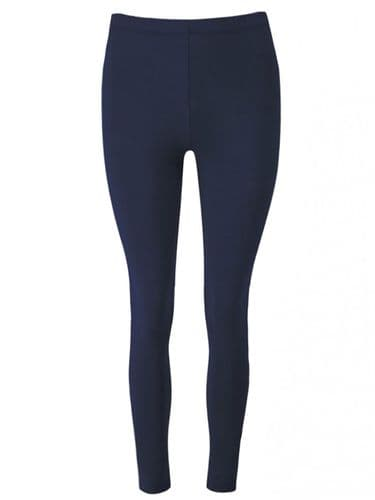 JOE BROWNS NAVY BLUE STRETCH LEGGINGS NEW SIZES 8-18
