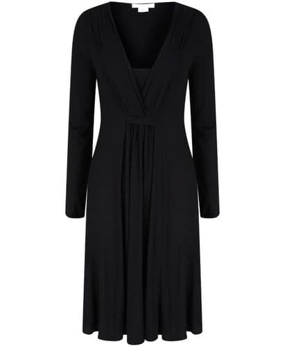 MAMAS & PAPAS BLACK JERSEY LONG SLEEVE DRESS NEW SIZES 6-14