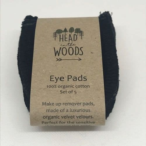 Head in the Woods Eco, Reusable, Biodegradabe Eye Pads