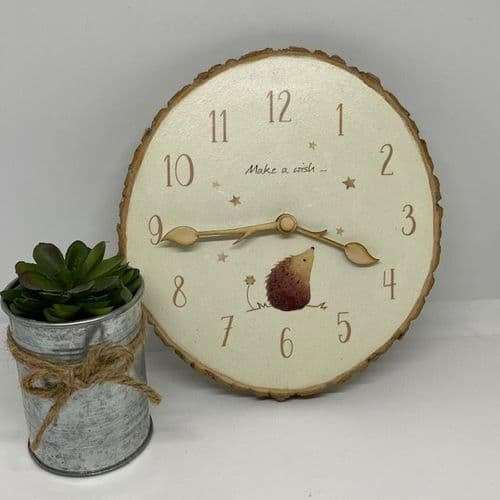 Ginger Betty Hand-Painted Clock