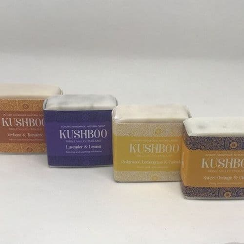 Kushboo 80g Exfoliating Bar