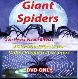 GIANT SPIDERS DVD