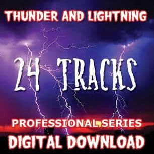 THUNDER & LIGHTNING SOUND FX DIGITAL DOWNLOAD