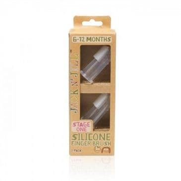 Stage 1  Silicone Finger Brush 2 Pack & Case