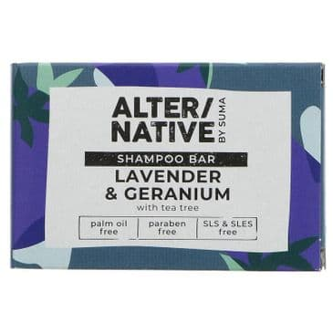 AlterNative Shampoo Bar - Lavender & Geranium
