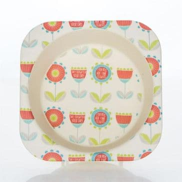 Bamboo Kids Bowl - Flowers
