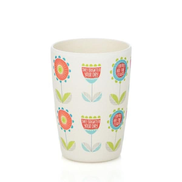 Bamboo Kids Cup - Flowers