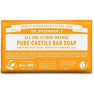 Castile Soap Bar - Citrus Orange