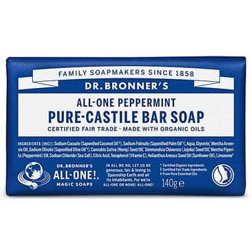 Castile Soap Bar - Peppermint