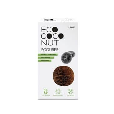 Eco Coconut Scourer - Twin Pack