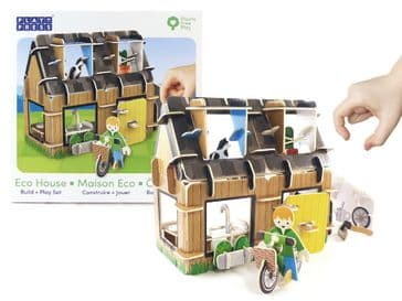 Eco House Pop-Out Play Set