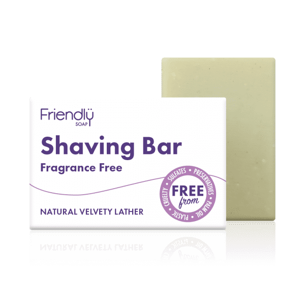 Friendly Fragrance Free Shaving Bar